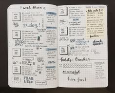 studybuzz:  22 march '16 | last week's bullet journal was quite busy!