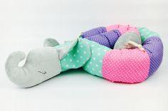 Nähanleitungen Baby - Bett-Rollofant ebook Bettrolle - ein Designerstück von monsta-bella bei DaWanda