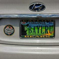 """Look what I found in Alexandria, Virginia!"" #Baylor #SicEm (via dabernathy89 on Twitter) #BaylorEverywhere"