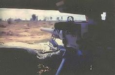 Unit Name: Bravo Co 1/28th 1st Inf Div  .50 cal gun placement at Bughouse outside Phu Loi Vietnam