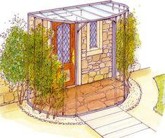 Den Hauseingang gestalten kann man auf viele Weisen: Wir haben elf Ideen für Sie zusammengestellt, damit Ihr Haus das repräsentiert, was es sein soll