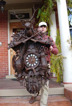 Chelsea Clock: Black Forest Clocks