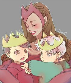 """My Little Prince"" with Wanda, Tommy, and Billy."
