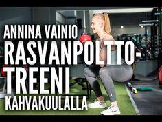 Rasvanpolttotreeni kahvakuulalla - Anni Vainio | Tikis.fi
