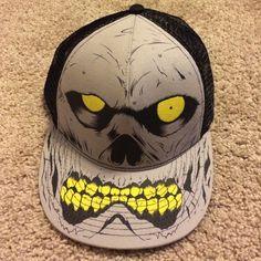 ✨MAKE OFFER✨ Mesh SnapBack Skull SnapBack. Like new. ✅Offers welcome! 5d9dcfd29