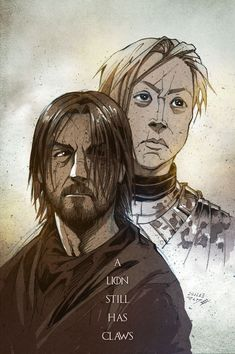 by Vashperado on deviantart, Jaime and Brienne, same awesome artist, would love to see this person do a GOT graphic novel