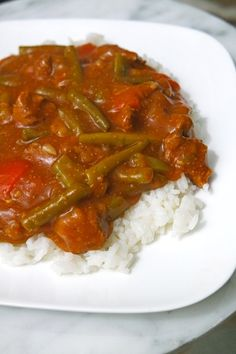 Goulash from the slow cooker - slowcooker - Crockpot Healthy Slow Cooker, Healthy Crockpot Recipes, Slow Cooker Recipes, Beef Recipes, Recipies, Goulash Slow Cooker, Steak Dishes, Swiss Steak, Multicooker