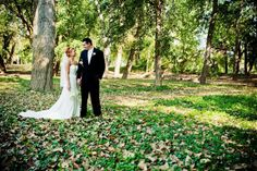 <3 Our Wedding   #wedding #trees #woods