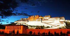Potala en Lhasa, Tíbet