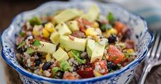 Diabetes-friendly recipes for your Instant Pot or electric pressure cooking for everything from breakfast to dinner. One Pan Mexican Quinoa, Dried Black Beans, Frijoles, Avocado Salad, Savoury Dishes, Whole 30 Recipes, Pressure Cooking, Popular Recipes, Instant Pot