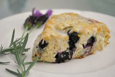 Oatmeal blueberry scones