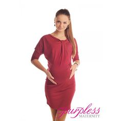 batwing+gown+formal   Batwing Dress 6407 Burgundy - Purpless Maternity - dresses, tops ...