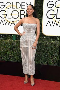 Tracee Ellis Ross in Zuhair Murad - Every Best Dressed Look from the 2017 Golden Globes - Photos
