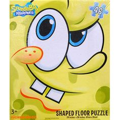 SpongeBob SquarePants 46 Piece Floor Puzzle: Featuring an image of SpongeBob from Nickelodeon's SpongeBob Squarepants and extra large puzzle pieces, your little ones will find this 46 piece floor puzzle both fun and easy to assemble.  $9.99  http://calendars.com/Kids-TV/SpongeBob-SquarePants-46-Piece-Floor-Puzzle/prod201000011965/?categoryId=cat00071=cat00071#