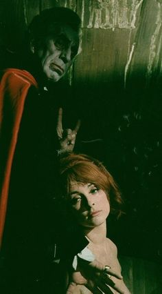 """Actor/director Roman Polanski's """"The Fearless Vampire Killers"""" (1967). Ferry Mayne and Sharon Tate shown."""
