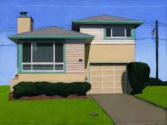 Westlake Teal Edges by Leah Giberson
