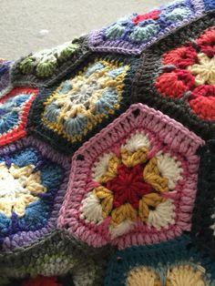 My African Flower quilt