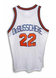 Dave DeBusschere New York Knicks Autographed White Throwback Jersey  422.95  Great piece of Knicks history. 497414744