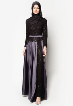 Impressive collection of abaya with flare designs (4)