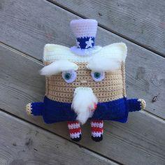 Ravelry: Uncle Sam Cuddler pattern by Victoria Stewart