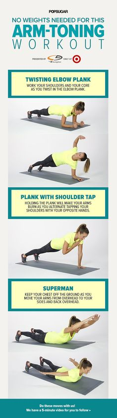 No Weights Needed For This Arm-Toning Workout