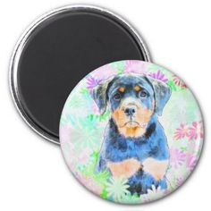 #Rottweiler Puppy Magnet - #rottweiler #puppy #rottweilers #dog #dogs #pet #pets #cute