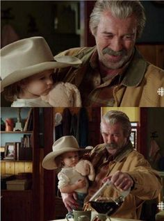 FAVOURITE JACK MOMENT  Jack putting his cowboy hat on Katie.
