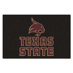 Collegiate Texas State University San Marcos Starter Area Rug