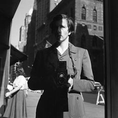 Self portrait of Vivian Maier, a Chicago photographer whose work was undiscovered until after her death at the age of 83. #photography