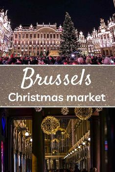 Spend a magical Christmas in Brussels. Check out where and how to experience this captivating event. Discover a wonderful winter wonderland at the Brussels Christmas market. | Christmas in Brussels | | Christmas in Belgium | European Christmas markets | Christmas | Christmas markets | Winter travel | Europe winter travel Bruges Christmas Market, Best Christmas Markets, European Destination, European Travel, Travel Europe, Brussels Christmas, Magical Christmas, Christmas Christmas, Sparkling Lights