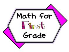 Math resources, blogs and ideas for First Grade math. Enjoy this collaborative board!