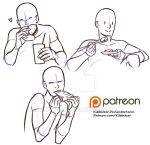 Eating reference sheet by Kibbitzer