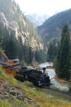 Been there _Train ride in Durango , Colorado. Been there _Train ride in Durango , Colorado. Been there _Train ride in Durango , Colorado. Durango Colorado, Aspen Colorado, Silverton Colorado, Silverton Train, Colorado Denver, Colorado Springs, Cool Places To Visit, Places To Travel, Locomotive Diesel