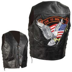 Diamond Plate Hand-sewn Pebble Grain Genuine Leather Biker Vest Large for sale online Motorcycle Leather Vest, Classic Motorcycle, Motorcycle Jackets, Leather Men, Black Leather, Leather Jackets, Cycling Vest, Clothing Patches, Skull Jewelry
