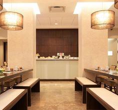 Modern Hospitality Boutique Interior Design Distrikt Hotel New York City Collage Bistro Bar