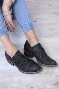 Meade Bootie - Charcoal [PREORDER]