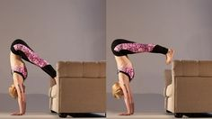 Learn the Art of Pressing up into Handstand   Yoga International
