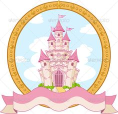 Princess Castle Design #GraphicRiver Princess magic castle label design. EPS 8 (editable), JPG (high resolution) Created: 6February13 GraphicsFilesIncluded: JPGImage #VectorEPS Layered: No MinimumAdobeCSVersion: CS Tags: art #banner #building #cartoon #castle #classic #clip #design #elegance #fairy #flag #frame #gold #icon #illustration #illustrations #image #label #magichistory #medieval #pink #placard #princess #sign #symbol #tale #tower #traditional #vector