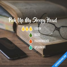 Pick Up My Sleepy Head - Essential Oil Diffuser Blend