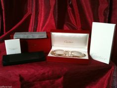 Only $346 on sale! Cartier Glasses 18k Gold Plated Square Sunglasses Retails $1890 Authentic Cert #Cartier