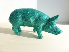 Hey! Look what I Made!: Glitter Pig