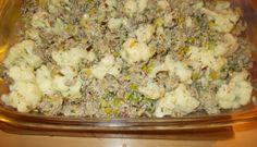 Al weer een lekkere ovenschotel met bloemkool, prei, gehakt, kruidenroomkaas en aardappelpuree. Altijd gemakkelijk. Je kunt de schotel voorbereiden en later in...
