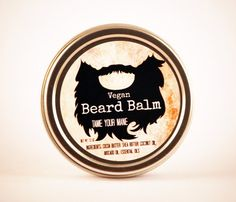 Organic Vegan Beard Balm The Lucky Man All by TheSootheChef