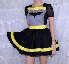 batman apron!!!!