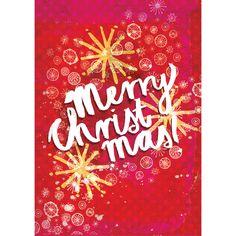 Merry Christmas Stars| Card
