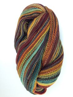 ITW Fiber Club Rambouillet fiber in the colorway Capt'n Tightpants 748 yards of a 2ply from 4oz's