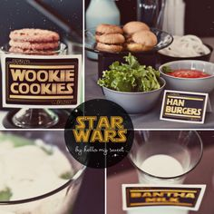 Sweet Parties: Star Wars Party & Dessert Table — Hello My Sweet