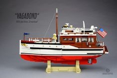 "Ships are not a rarity in LEGO fan creations, although we do not see yachts quite as often as cargo or fishing ships. This build, called Lake Union Dreamboat ""Vagabond"" by Markus Ronge is a fine addition to the LEGO yacht collection. I love the shaping on the upper half of the hull, as well …"