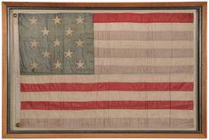 Francis Hopkinson Annin & Co. Silk American Flag - Late 19th Century