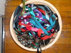 planting pot an ideal scrap ribbon collector.